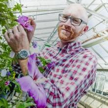 Ryan Contreras, Ph.D., Associate Professor Ornamental Plant Breeding
